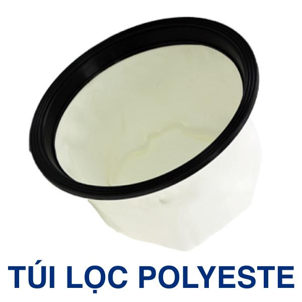 TÚI LỌC POLYESTE CHO MÁY HÚT BỤI CR 5050N